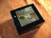 Custom made plaque for watch box